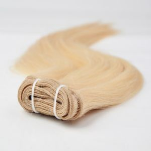 European Virgin Remy Human Hair Machine Weft
