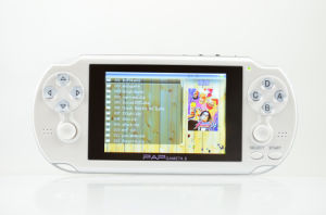 4.1 Inch Dual Core Video Game Console with FM Radio Pap-Gameta II