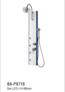 High Quality 304 Stainless Steel Bathroom Shower Panel Ba-P9716 pictures & photos