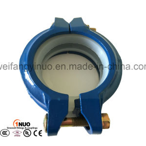 FM/UL/Ce Listed Ductile Iron Grooved Rigid Coupling for Drinking Water pictures & photos