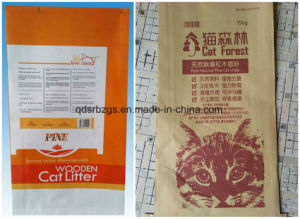 Colorful Printed Paper PP Woven Bag/Sack for Cat Litter pictures & photos