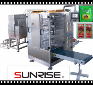 Tomato Paste Four-Side Sealing & Multi-Line Packing Machine (DXDO-J500E)