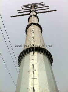 Monopole Power Transmissionsteel Steeltower pictures & photos