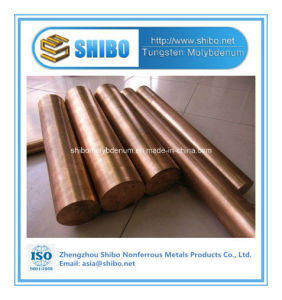Professional Manufacturer Tungsten Copper Alloy Rod with Super Quality pictures & photos