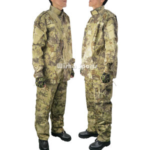 Usmc V2 Field Combat Tactical Army Military Uniform in Kryptek Highlander Camo