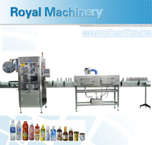 Automatic Bottle Shrink Sleeve Applicator pictures & photos