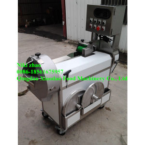 Leaf-Vegetable and Root-Vegetable Multi Cutting Machine pictures & photos