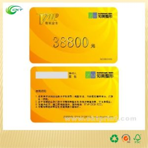 Embossed PVC Cards Printing with VIP Card (CKT-PC- 138)