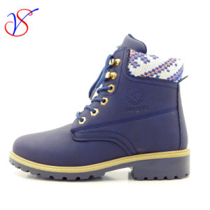 2016 New Style Injection Women Work Boots Shoes for Job with Quick Release (SVWK-1609-021 BLUE)