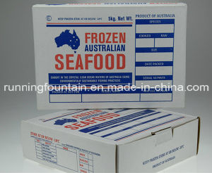 USA Kraft Cardboard Paper Box for Forzen Seafood
