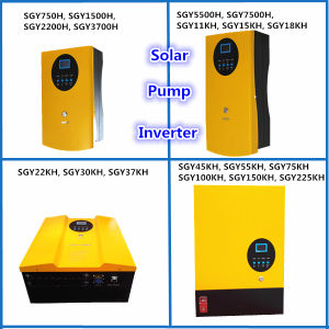 Solar Pump Inverter for 3 Phase AC220/380V Pump (750W-225kw)