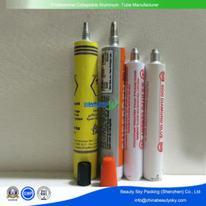 RTV Silicone Sealants Adhesive Glue Packaging Aluminum Packaging Tubes pictures & photos