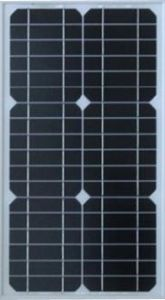 25W Mono Solar Panel with TUV/IEC/Cec/Ce Certificate pictures & photos
