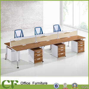 CF Modular Partition 6 Seats Workstation with Mobile Cabinet