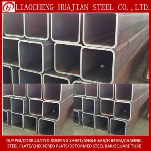 Welded Black Square Tube with Carbon Steel pictures & photos