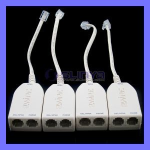 2wire Us DSL Filters for ADSL with Dual Connections for Phone and Modem pictures & photos