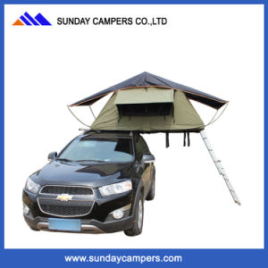 2017 Canvas Vehicle Pop up Tent for Car Roof Top Tent Campers pictures & photos