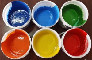 Pigment Paste Yellow and Blue pictures & photos