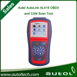 Original Autel Next Generation Obdii&Can Scan Tool Autolink Al419 pictures & photos