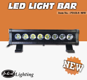 40W 80W 160W 200W 280W CREE LED Light Bar with CE Rochs IP68 (PD1R-8)