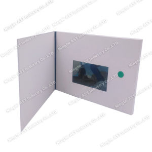 4.3inch LCD Video Brochure, Video Player Cards, Video Advertising Brochure pictures & photos