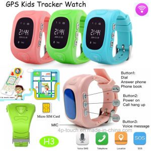 2017 GPS Watch Tracker for Naughty Girls and Boys (H3) pictures & photos