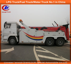 Heavy Duty 6*4 351-450HP HOWO Road Wrecker Truck pictures & photos