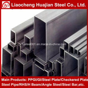 ASTM A106 Rectangular Tube Seamless Steel Pipe pictures & photos