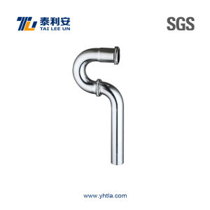 Chrome Plated Brass P-Trap (T1074)