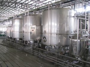 Full Automatic 2000L/H Uht Milk Processing Plant with Aseptic Package pictures & photos