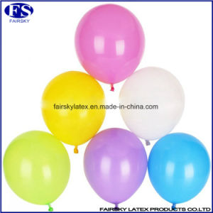 Manufacture Round Shaped Standard Latex Balloons pictures & photos