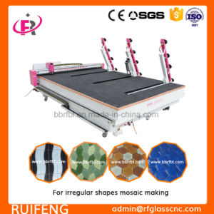 Shapes Full Automatic CNC Glass Cutting Machine (RF2520) pictures & photos