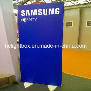 Exhibition Free Standing Light Box Display Mobile Light Box