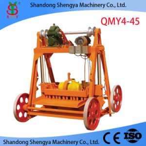 Mobile Block Making Machine (QMY4-45 / QMR2-45) pictures & photos