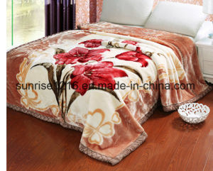 High Quality Mink Blanket Sr-B170214-5 Printed Mink Blanket Solid Mink Blanket
