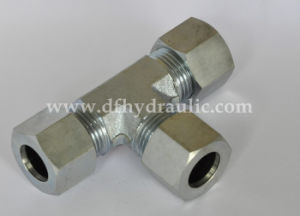 Carbon Steel Joint Pipe Thread Fitting Tee Type pictures & photos