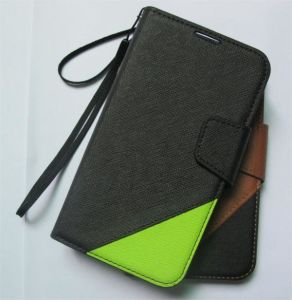 Wallet Flip Case Cover for Samsung Galaxy Note 2, Leather Case for Mobile Phone (IG-SAM-GLX-NOT2-WALT)