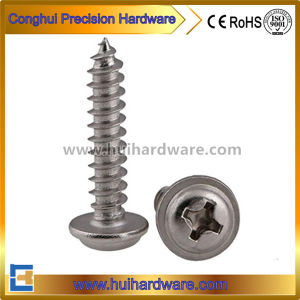 Stainless Steel Phillips Pan Washer Head Sems Self Tapping Screw pictures & photos