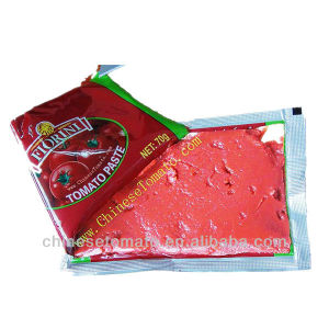 40g 50g 70g Double Concentrated Tomato Sachet Tomato Paste pictures & photos