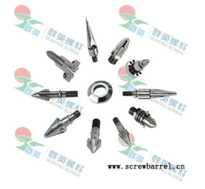 Tips of Screw and Barrel for Extruder Machines (QYY011)