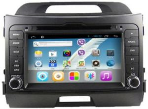 China Rungrace Kia Sportage Touch Screen Car Audio With Rds