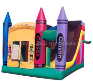 Inflatable Bouncers, Bounce Houses Crayon for Party Events pictures & photos