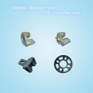Galvanized Steel Ringlock Scaffold System Ledger Head /Ledger End/Brace Head (WST189---WST190)
