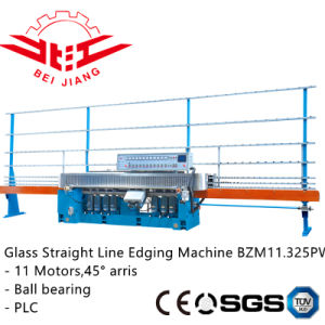 PLC Control Glass Striaght Line Edging Machine (Bzm11.325pw) pictures & photos