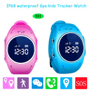Gift GPS Tracking Watch for Kids with IP67 Waterproof (D11) pictures & photos