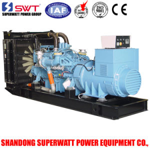 60Hz 704kw/880kVA Standby Power Mtu Water Cooled Generator