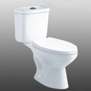 China Cheap Hot Sale Bathroom Washdown Water Closet Siphoinc Two Piece Toilets China Two Piece Toilet Water Closet