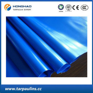 Blue China Factory PVC Double-Coated Tarpaulin Roll pictures & photos