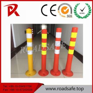 High Quality 75cm Flexible PU Warning Post pictures & photos