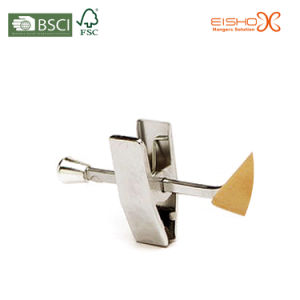 Metal Chrome Gripper Hanger for Pants (TB101) pictures & photos